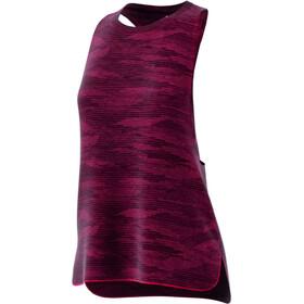 adidas Boxy Tank Aeroknit Damen core pink /black